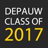 DePauw University Class of 2017