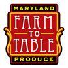 Maryland Farm-To-Table Produce