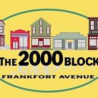 The 2000 Block Frankfort Avenue's Finest Destination