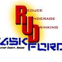 Reduce Underage Drinking Task Force (RUDTF)