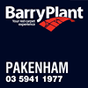 Barry Plant Pakenham