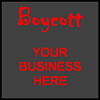 Boycott Businesses that Support Criminalizing Homelessness
