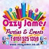Ozzy James Parties and Events