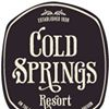 Cold Springs Resort