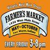 Historic West Main Street Farmer's Market