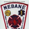 Mebane Fire Department North Side