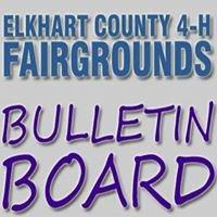 Elkhart County 4-H Fairgrounds Bulletin Board