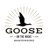 Goose on the Rocks