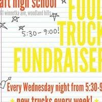 Food Truck Wednesdays at Taft High School