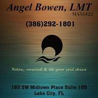 Angel Bowen Licensed Massage Therapist Ma53422