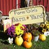 Farm Girls Barn-Yard