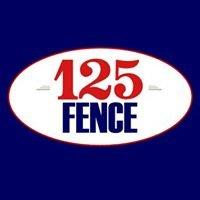 125 Maintenance & Fence Inc