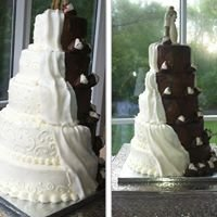 "Designer Cakes by ""Thee & Me Weddings"""