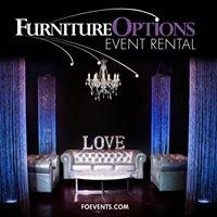 Furniture Options Event Rental