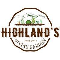 Highland's Giving Garden