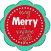 Very Merry Vintage Style