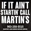 Martin's Lawn Mower Repair Service