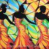 Caribbean Colors Art Cafe Caye Caulker