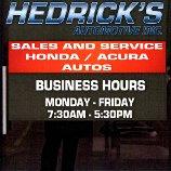 Hedrick's Automotive, Inc.