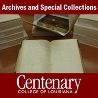Centenary College of Louisiana | Archives and Special Collections