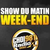 Show du Matin Week-end Radio X