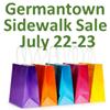 Germantown Sidewalk Sale