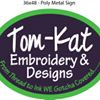 Tom-Kat Embroidery Main