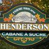 Cabane à Sucre Henderson