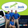 """We Chunk Junk, the junk removal company of north Alabama"""