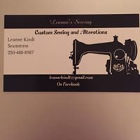 Leanne's custom sewing and alterations