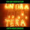 Un Ora Pa Nos Tera . Earth Hour Curacao . Een Uur Voor Natuur