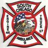 Chicago Fire Dept. Engine 46 Truck 17 Ambulance 9