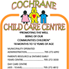 Cochrane Child Care Centre Garde D'Enfants De Cochrane