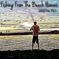 Fishing From The Beach Hawaii