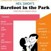 Barefoot in the Park by Cobblestone Theatre Company