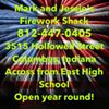 Mark and Jessies Fireworks Shack