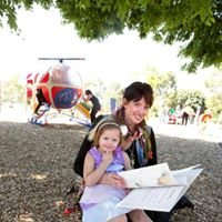 Helicopter Park Little Library for Little People