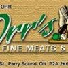 Orr's Fine Meats and Deli