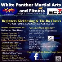 White Panthers Martial Arts Training Venue