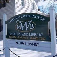 Lancaster VA Historical Society-Mary Ball Washington Museum & Library