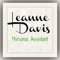 Leanne Davis, Personal Assistant