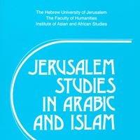 Jerusalem Studies in Arabic and Islam