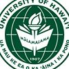 University of Hawaii at Manoa Department of Biology