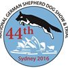 44th National German Shepherd Show and Trial Sydney 2016