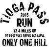 Tioga Pass Run