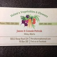 Helen's Vegetables and Flowers