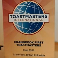 Cranbrook First Toastmasters (Club #3532)