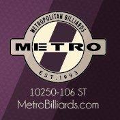 METRO Billiards Edmonton
