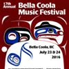 Bella Coola Music Festival