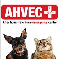 AHVEC - After hours veterinary emergency centre.